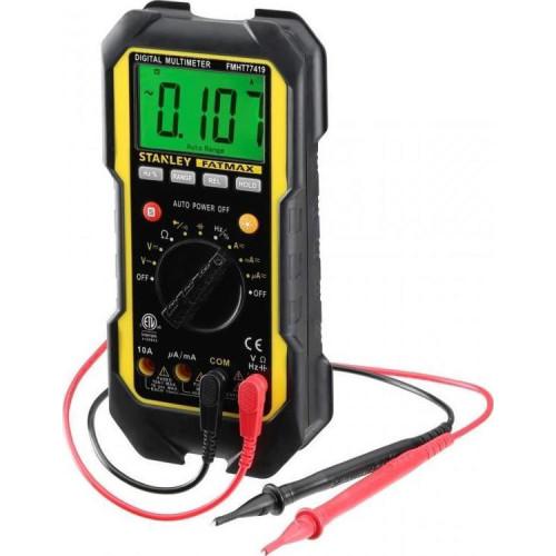 Πολύμετρο Ψηφιακό 600VAC/DC Stanley Fatmax FMHT0-77419