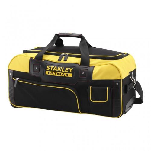 Τσάντα εργαλείων υφασμάτινη (σάκος) τροχήλατη με τηλεσκοπική λαβή Stanley Fatmax® FMST82706-1