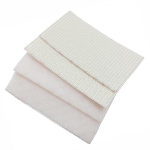 Ταινία αυτοκόλλητη λευκή Velcro 5cmX10cm HEAVY DUTY / Βαρέως τύπου 2 Σετ 60240