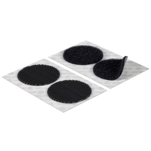 Ταινία αυτοκόλλητη μαύρη Velcro Φ45mm HEAVY DUTY / Βαρέως τύπου 6Τεμ. 60248